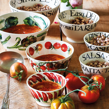 Vegetable Garden Chili Snack Bowl