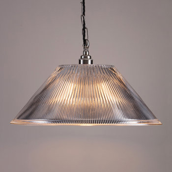 Prismatic Conical Ceiling Light