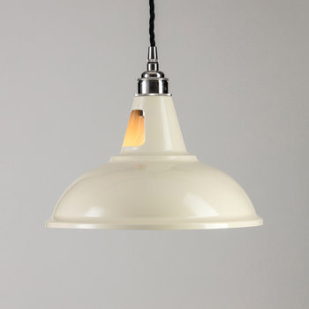 Factory Pendant Ceiling Light - Ivory
