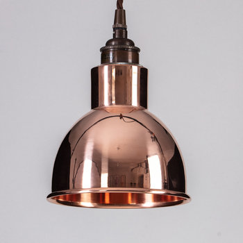 Churchill Pendant Ceiling Light - Copper