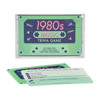 Music Trivia Game - 80's