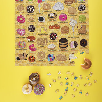 Doughnut Lovers Jigsaw Puzzle - 500 Piece