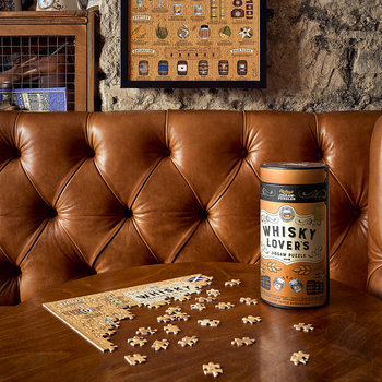Whiskey Lovers Jigsaw Puzzle - 500 Piece