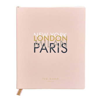 Travel Journal & Planner - Pink