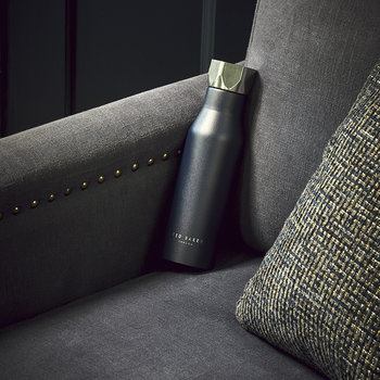 Insulated Water Bottle - 425ml - Navy