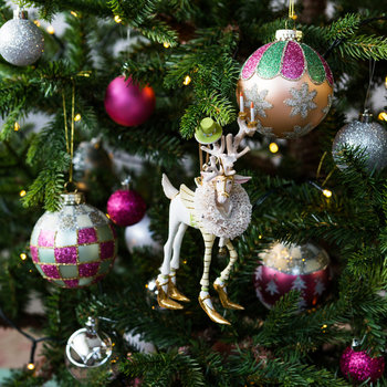 Patience Brewster Moonbeam Prancer Tree Decoration