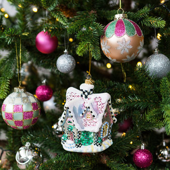 Sweet Chalet Tree Decoration