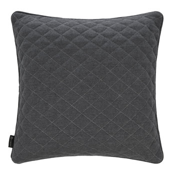 Diamond Quilted Reversible Pillow - 50x50cm - Gray