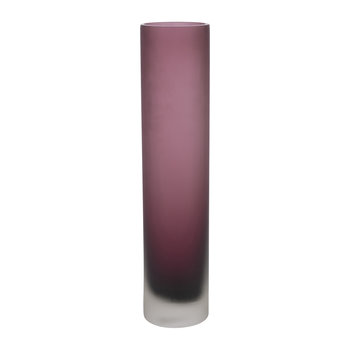 Purple Thin Glass Vase