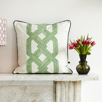 Aluro Cushion - 50x50cm - Green
