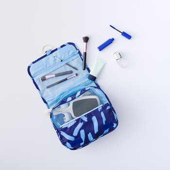 Travel Toiletry Bag - Midnight Blue