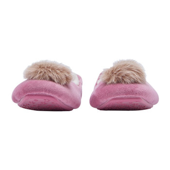 Pombury Ballet Slipper With Pom Pom - Pink