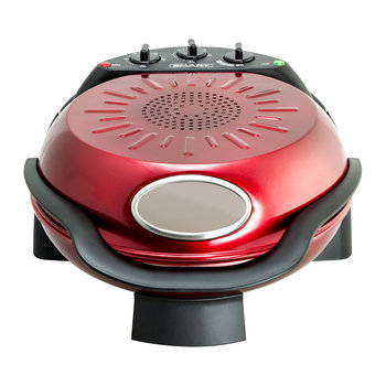 Rotating Stone & Grill Pizza Oven - Red