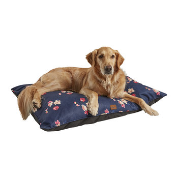 Floral Print Dog Mattress - Large