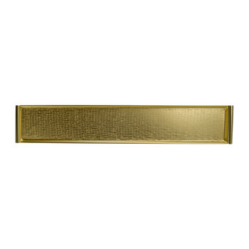 Vancouver Rectangular Tray - Brass