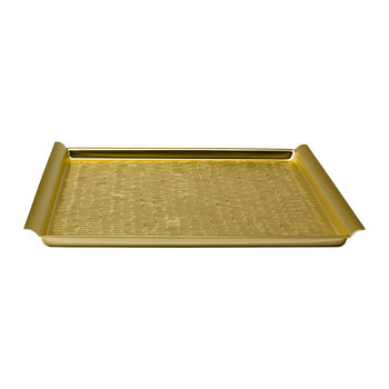 Vancouver Square Tray - Brass
