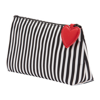 Hearts & Stripes Medium T-Seam Pouch