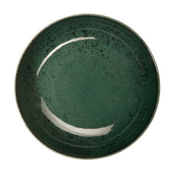 Seasons Specked Cereal Bowl - Green