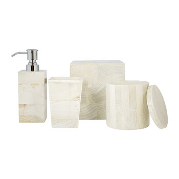 Palermo Toothbrush Holder - Clamstone