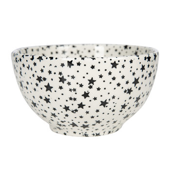 Midnight Sky Dessert Bowl - Light Black