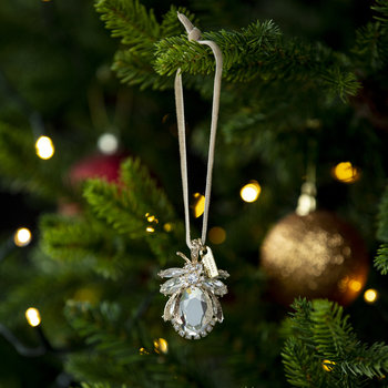 Classic Sparkle Bug Tree Decoration - Set of 3