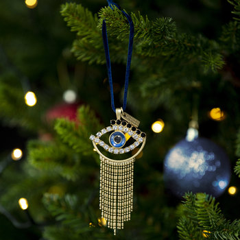 Evil Eye Christmas Tree Decoration