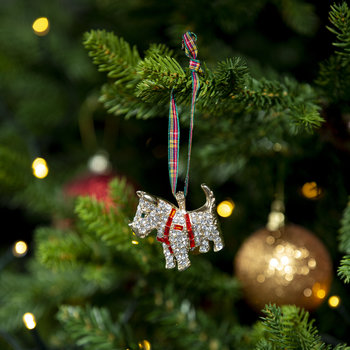 Scottie Dog Christmas Tree Decoration