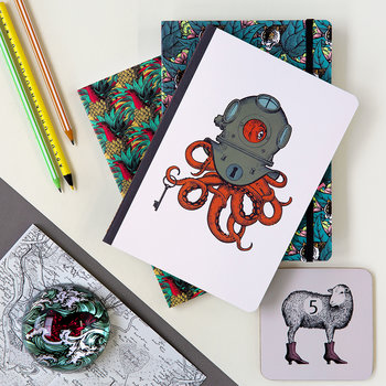 A5 Safari Notebooks - Artiger