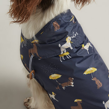 Water Resistant Dog Coat - Navy