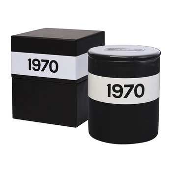 1970 Candle - Large - Black