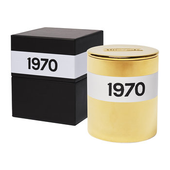 1970 Candle - Large - Gold