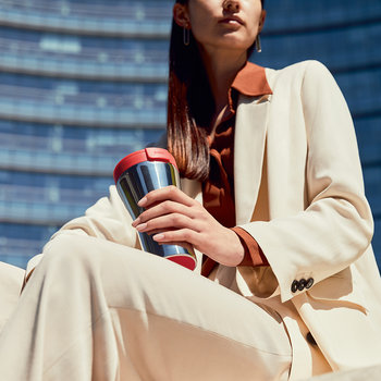Caffa Travel Mug - Red
