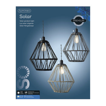 Outdoor Rope Ceiling Light - Grey