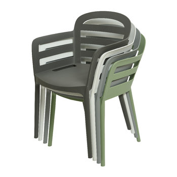 Outdoor Stackable Dining Chair - Anthracite