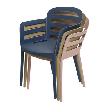 Outdoor Stackable Dining Chair - Sand