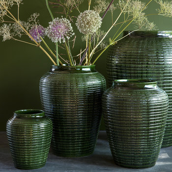 Willow Vase - Green