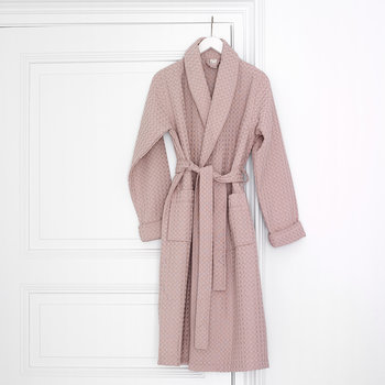 Viggo Bath Gown - Dusty Pink