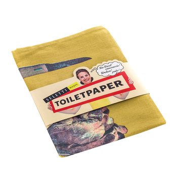 Toiletpaper Tea Towel - I Love You