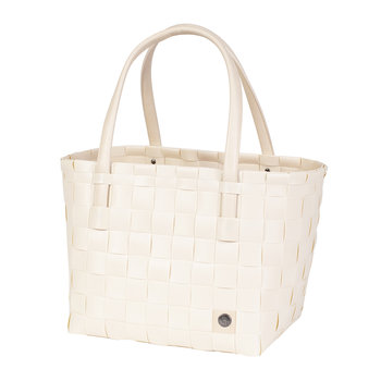 Colour Match Shopper Bag - Ecru White