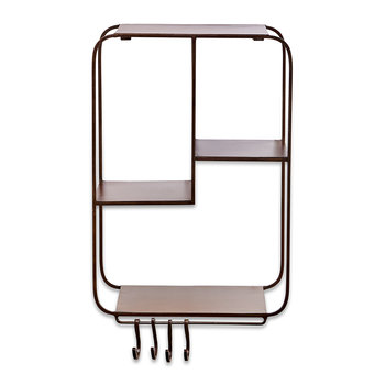 Ngando Wall Hung Shelf - Iron
