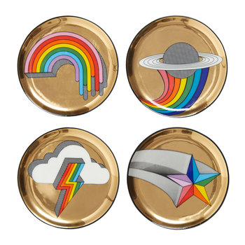 Pop Coasters - Set of 4 - Multi