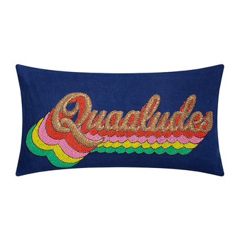 Quaaludes Beaded Pillow - 50x30cm