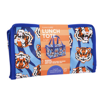 Children's Jungle Lunch Tote Bag