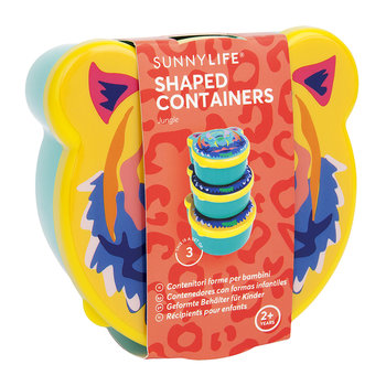 Children's Jungle Shaped Containers