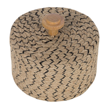 Wicker Woven Pot - Small