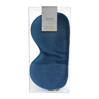 Velvet Eye Mask - Teal
