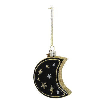 Moon with Stars Tree Decoration