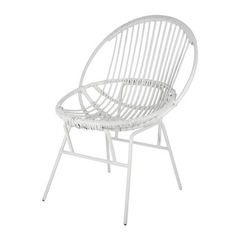 Cane Chair - White