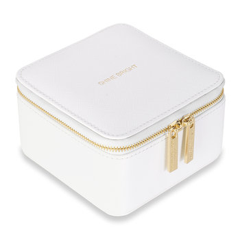 Square Travel Jewelry Box - Shine Bright