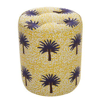 Aburi Pouffe - Yellow